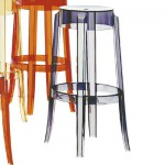 Charles Ghost Stool in four colours