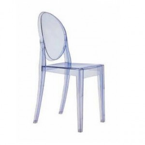 Crystal Victoria Ghost Chair